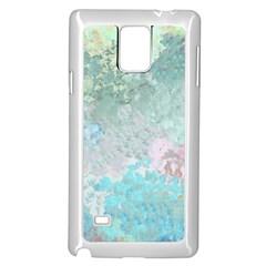 Pastel Garden Samsung Galaxy Note 4 Case (white)