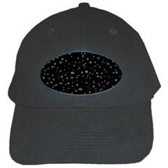 Dots pattern Black Cap