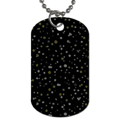 Dots pattern Dog Tag (Two Sides)