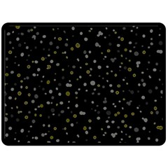 Dots pattern Fleece Blanket (Large)
