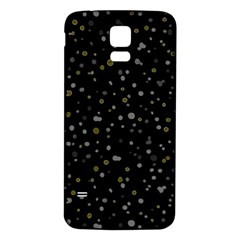 Dots pattern Samsung Galaxy S5 Back Case (White)