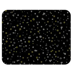 Dots pattern Double Sided Flano Blanket (Medium)