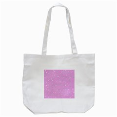 Dots pattern Tote Bag (White)