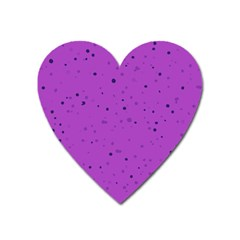 Dots pattern Heart Magnet
