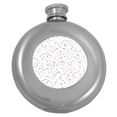 Dots pattern Round Hip Flask (5 oz)