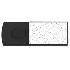 Dots pattern USB Flash Drive Rectangular (1 GB)