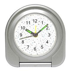 Dots pattern Travel Alarm Clocks