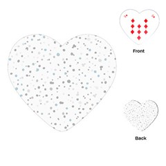Dots pattern Playing Cards (Heart)
