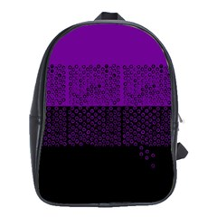 Abstract art  School Bags(Large)