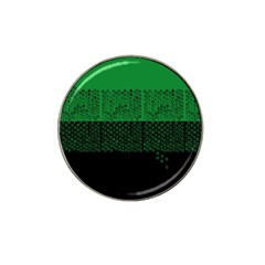 Abstract art  Hat Clip Ball Marker (4 pack)