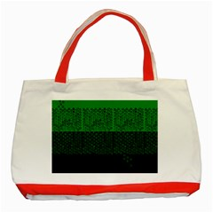 Abstract art  Classic Tote Bag (Red)