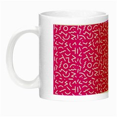 Abstract art  Night Luminous Mugs