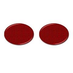 Abstract art  Cufflinks (Oval)