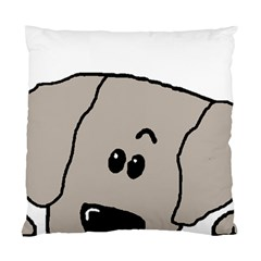 Peeping Weimaraner Standard Cushion Case (Two Sides)