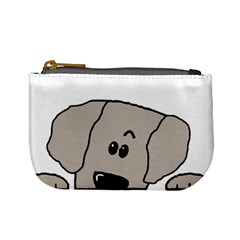 Peeping Weimaraner Mini Coin Purses