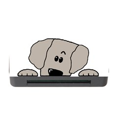 Peeping Weimaraner Memory Card Reader with CF