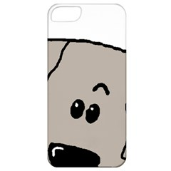Peeping Weimaraner Apple iPhone 5 Classic Hardshell Case