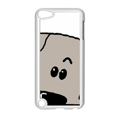 Peeping Weimaraner Apple iPod Touch 5 Case (White)