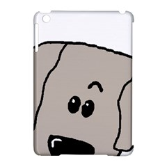 Peeping Weimaraner Apple iPad Mini Hardshell Case (Compatible with Smart Cover)