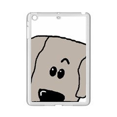 Peeping Weimaraner iPad Mini 2 Enamel Coated Cases