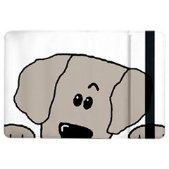 Peeping Weimaraner iPad Air 2 Flip