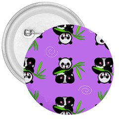 Panda Purple Bg 3  Buttons