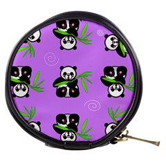 Panda Purple Bg Mini Makeup Bags