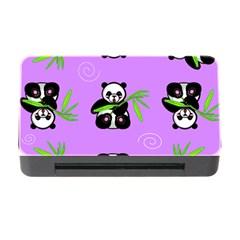 Panda Purple Bg Memory Card Reader with CF