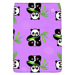 Panda Purple Bg Flap Covers (L)