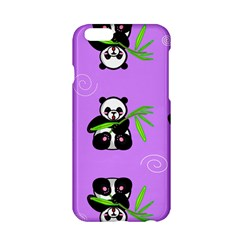 Panda Purple Bg Apple iPhone 6/6S Hardshell Case