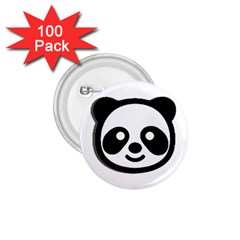 Panda Head 1.75  Buttons (100 pack)