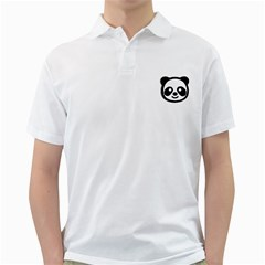 Panda Head Golf Shirts