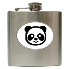 Panda Head Hip Flask (6 oz)