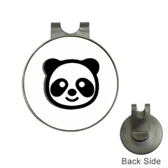 Panda Head Hat Clips with Golf Markers