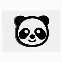 Panda Head Large Glasses Cloth (2-Side)