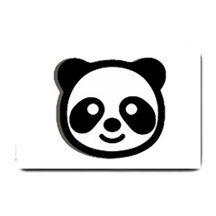 Panda Head Small Doormat
