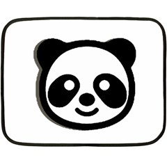 Panda Head Fleece Blanket (Mini)