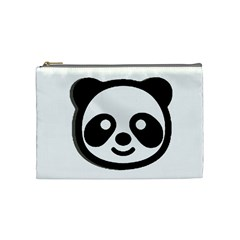 Panda Head Cosmetic Bag (Medium)