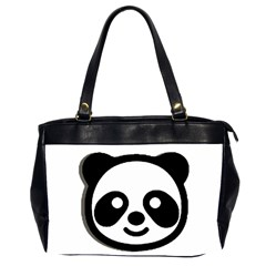Panda Head Office Handbags (2 Sides)