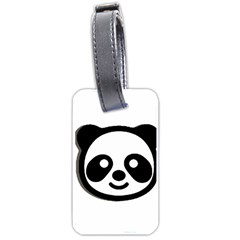 Panda Head Luggage Tags (Two Sides)