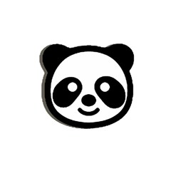Panda Head Shower Curtain 48  x 72  (Small)
