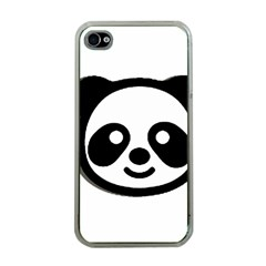 Panda Head Apple iPhone 4 Case (Clear)