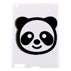 Panda Head Apple iPad 3/4 Hardshell Case
