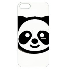 Panda Head Apple iPhone 5 Hardshell Case with Stand