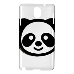 Panda Head Samsung Galaxy Note 3 N9005 Hardshell Case
