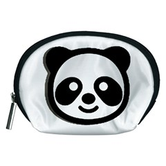 Panda Head Accessory Pouches (Medium)