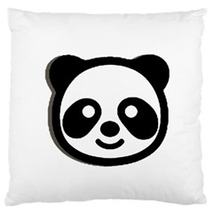 Panda Head Standard Flano Cushion Case (Two Sides)