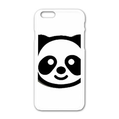Panda Head Apple iPhone 6/6S White Enamel Case