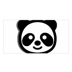 Panda Head Satin Shawl