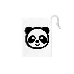 Panda Head Drawstring Pouches (XS)